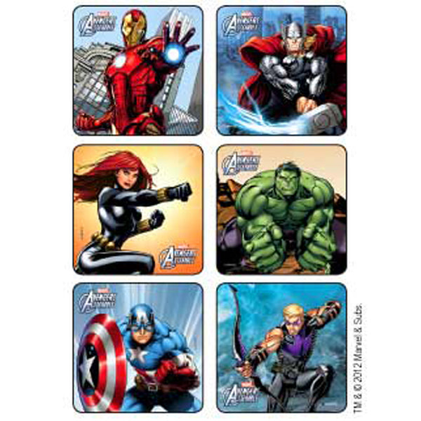 Sticker Pack - Avengers - 90 ct
