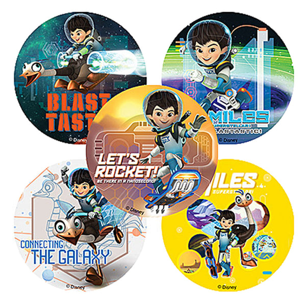 Miles from Tomorrowland stickers