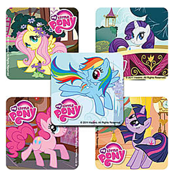 Sticker Pack - My Little Pony - 75 ct