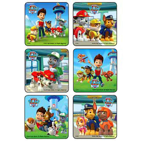 Sticker Pack - Paw Patrol Scene - 90 pc