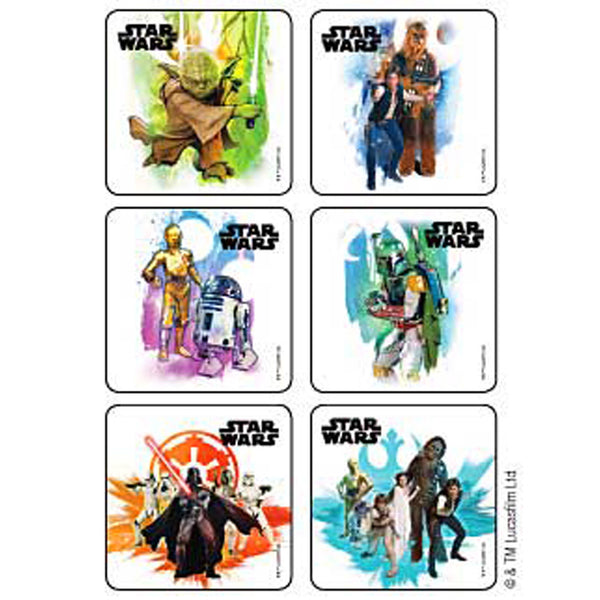 Sticker Pack - Star Wars - 90 ct