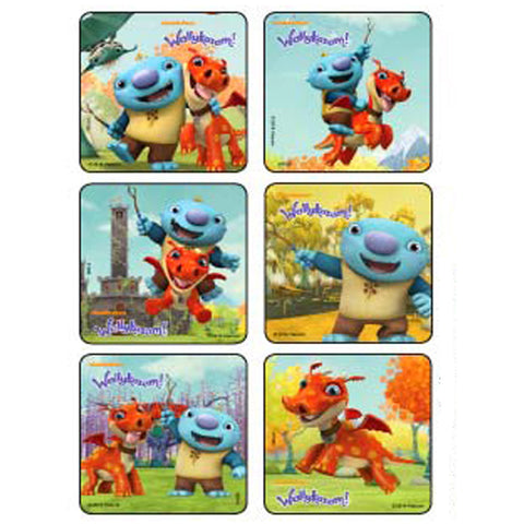 wallykazam stickers