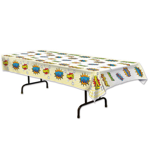 comic super hero table cover