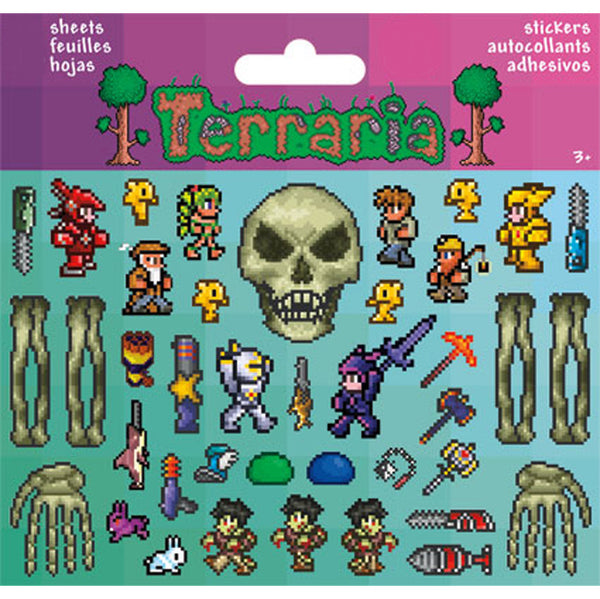 Sticker Pack - Terraria Eye of Cthulhu- 2 sheets