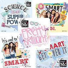 Project Mc2 sticker party favors