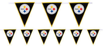 Pittsburg Steelers NFL pennant banner