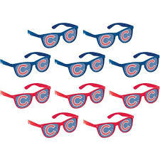 chicago cubs novelty adult glasses