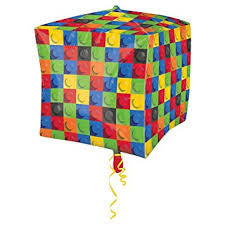 lego square mylar balloon
