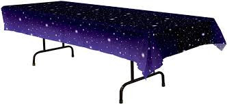 Starry Space Night Table Cover - Star Galaxy theme