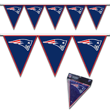 NFL Licensed New England Patriots Pennant Party Banner