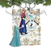 3 pc Frozen (Anna, Elsa, Olaf) Ornament Set