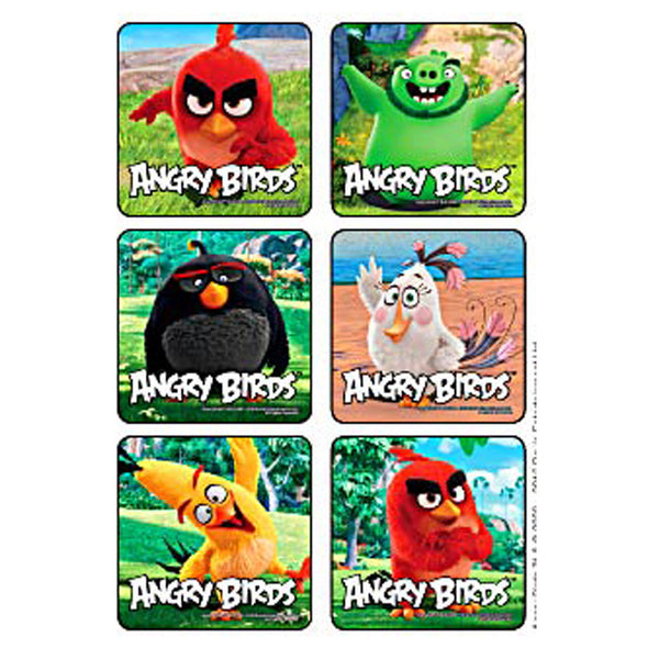 why so angry birds stickers party favors