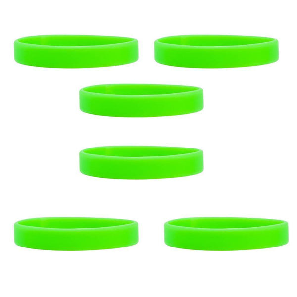 Kiwi Green Wristbands