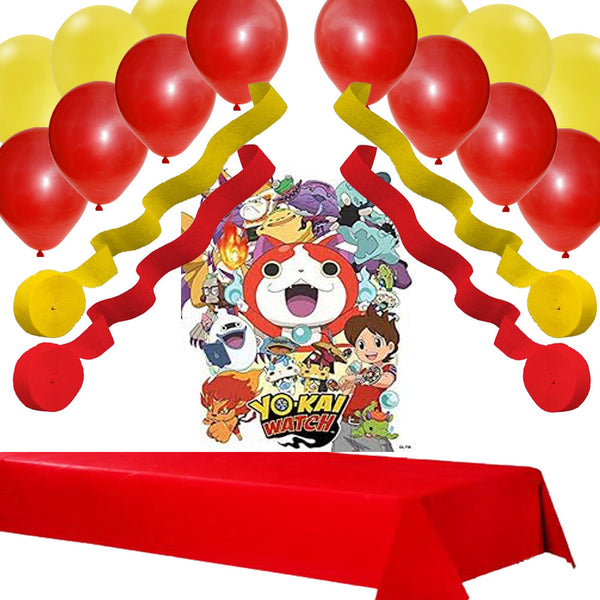 YO-KAI WATCH PARTY DECORATION SET