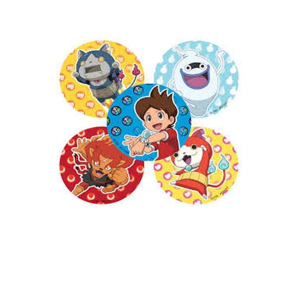 Yo-Kai Watch Stickers 100 ct