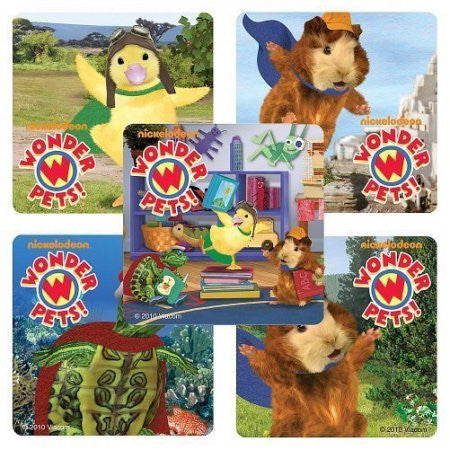 wonder pets stickers