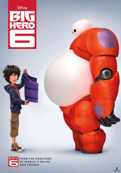 Big Hero 6 disney movie poster