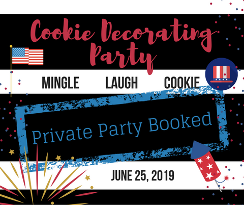 Cookie Decorating Party  {private-sasha} 6.25.19 - one ticket