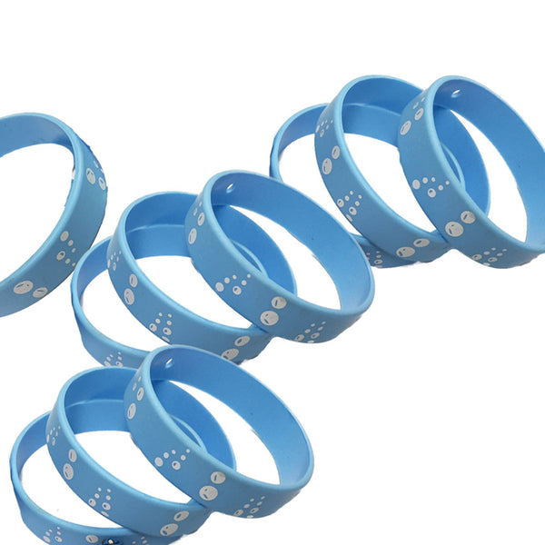 Bubbles Youth Favor Wristbands