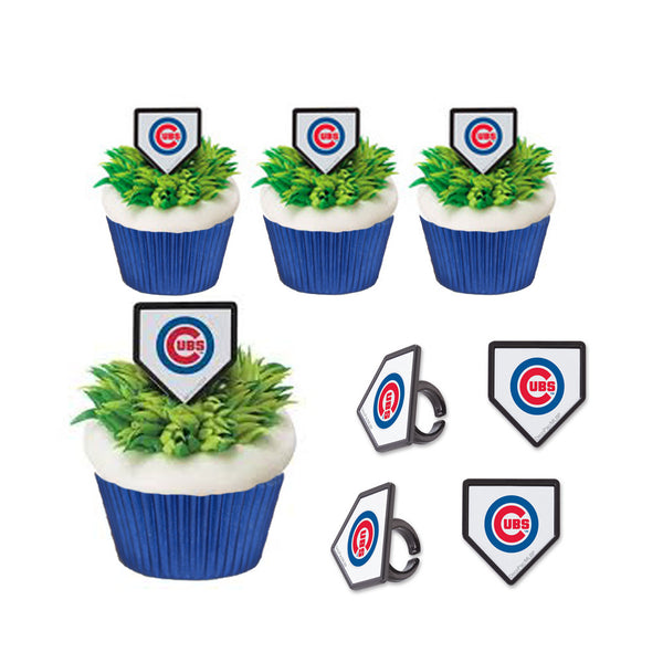 chicago cubs rings & cupcake Cups