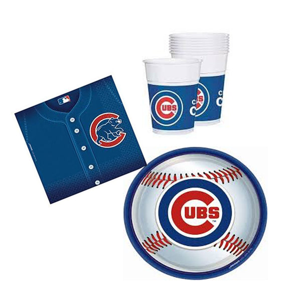 chicago cubs party tableware