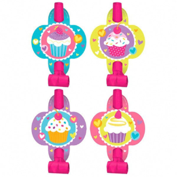 Cupcake Party Theme - Favor Blowers 8