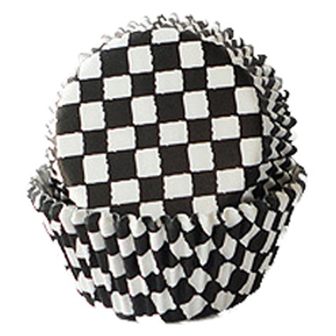 Checkered Baking Cups