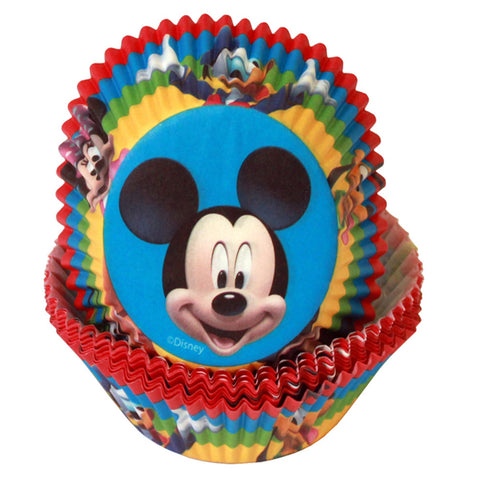 Mickey Mouse cupcake cups