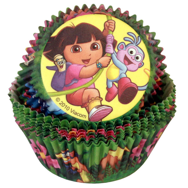 Cupcake Cups - Licensed Dora the Explorer & Boots (24)