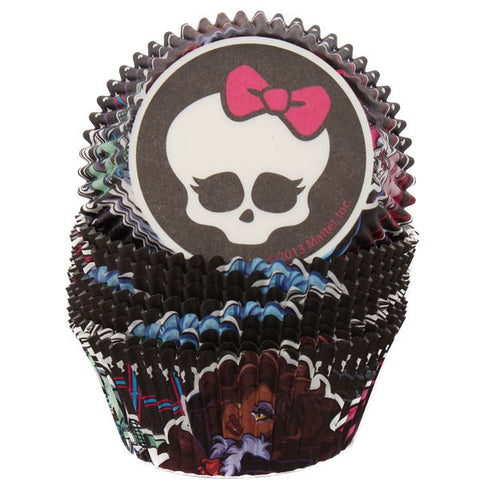 monster high baking cups