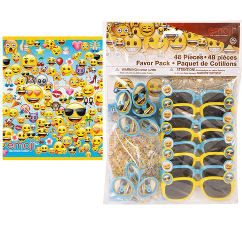 Emoji party favor set Piñata fillers