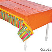 Fiesta Plastic Table Cover - Rectangle