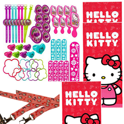 64 pc Hello Kitty Favor Set - 8 guests
