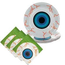 eyeball plates napkins