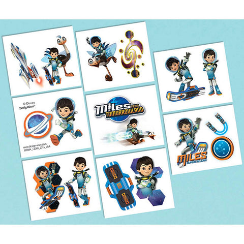 16 Disney Miles From Tomorrowland Tattoos