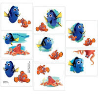 finding dory temporary tattoo party favors