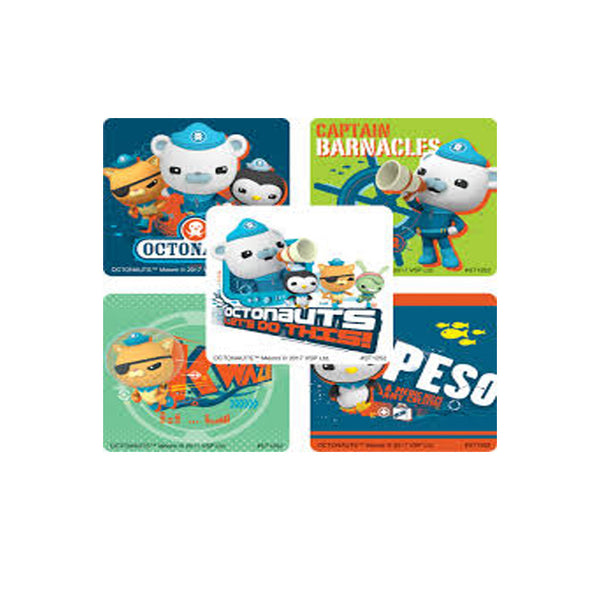 octonauts stickers favor pack