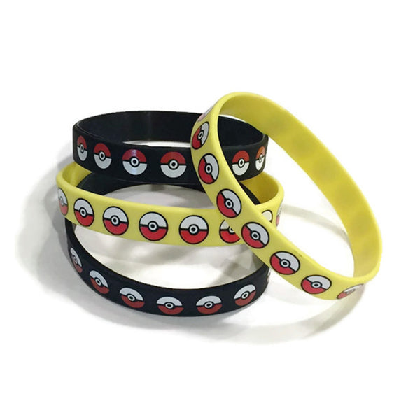 12 Pokeball Youth Party Wristbands