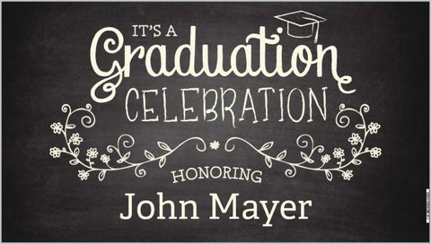Graduation Banner Personalized