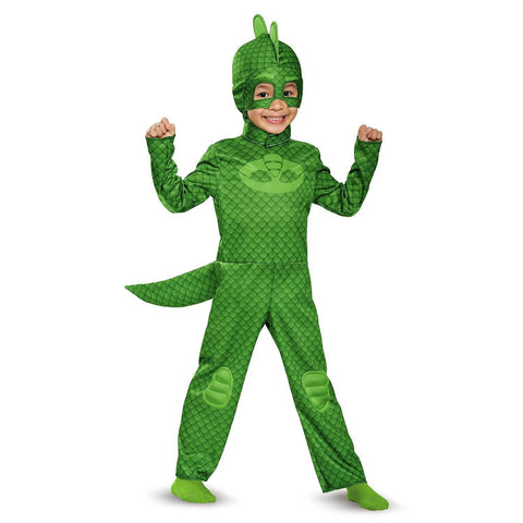 PJ Masks Boys' Gekko Disguise Toddler Costume :  3T - 4T