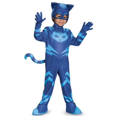 PJ Masks Boys' Cat Boy Deluxe Toddler Costume - (S) 4-6