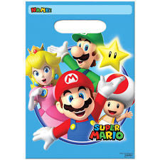 Super Mario Party Favor Bags - 8 ct