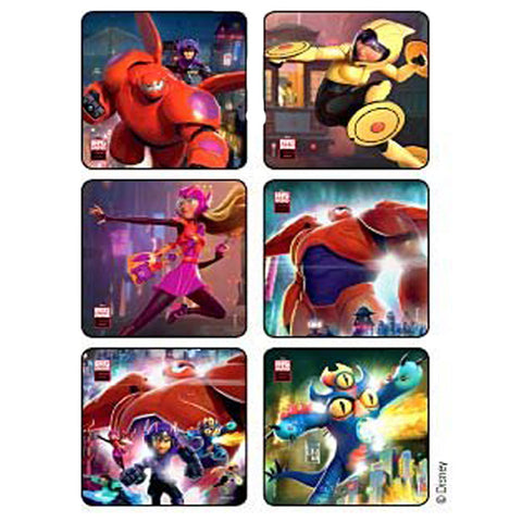 big hero 6 stickers