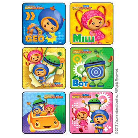 team umizoomi stickers