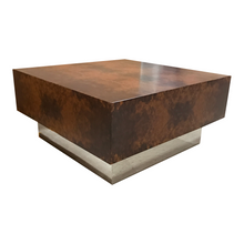 Milton Burl Coffee Table Chrome Base