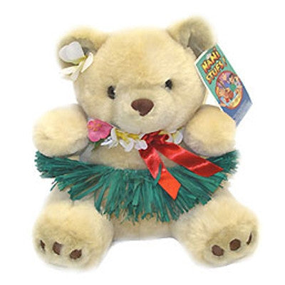 Hawaiian Huggins Hula  Bear