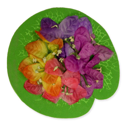 Island Flower Floaties for Pool Decorations - Set of 6