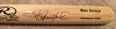 Andrew Benintendi signed Rawlings Big Stick bat