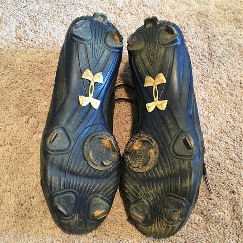fd55df04ac7 Tyler Austin 2014 Game Used Cleats (pair) – Anderson Authentics