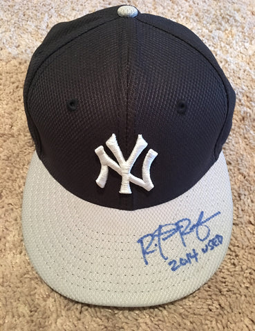 Rob Refsnyder 2014 Used Hat
